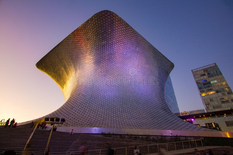 Mexiko- Citypanorama-Straße CDMX stockfotografie