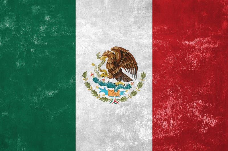 Mexiko-Flagge lizenzfreie stockfotos