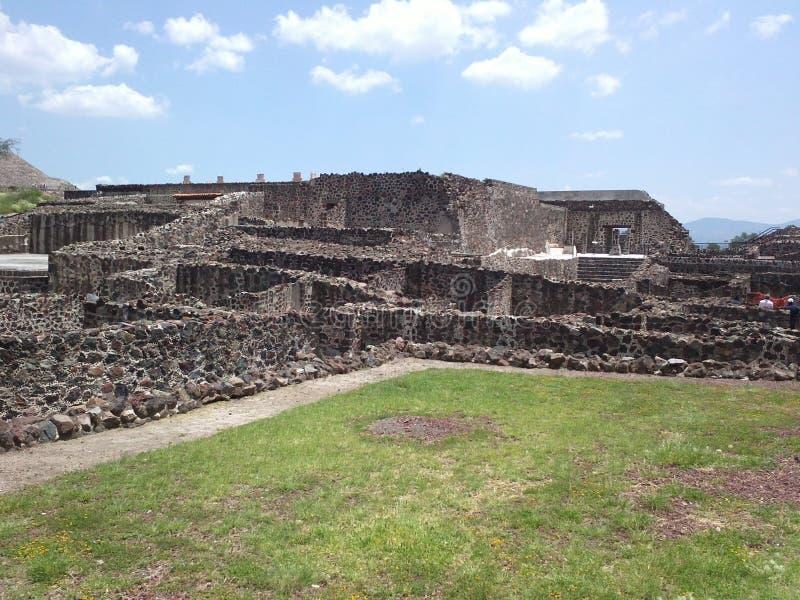 Mexiko-Pyramiden lizenzfreie stockfotos