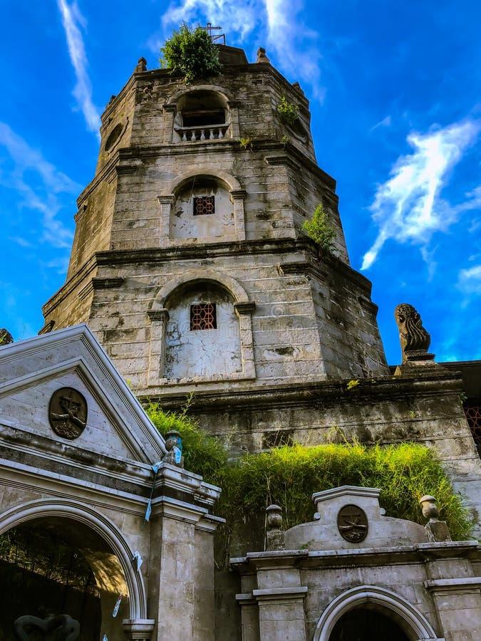 Meycauayan kościół w Meycauayan, Bulacan, Filipiny fotografia stock