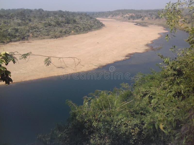 meyendar of kangsabati river stock images