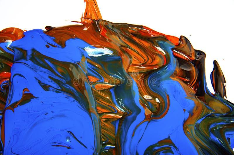 Mezcla abstracta foto de archivo libre de regalías