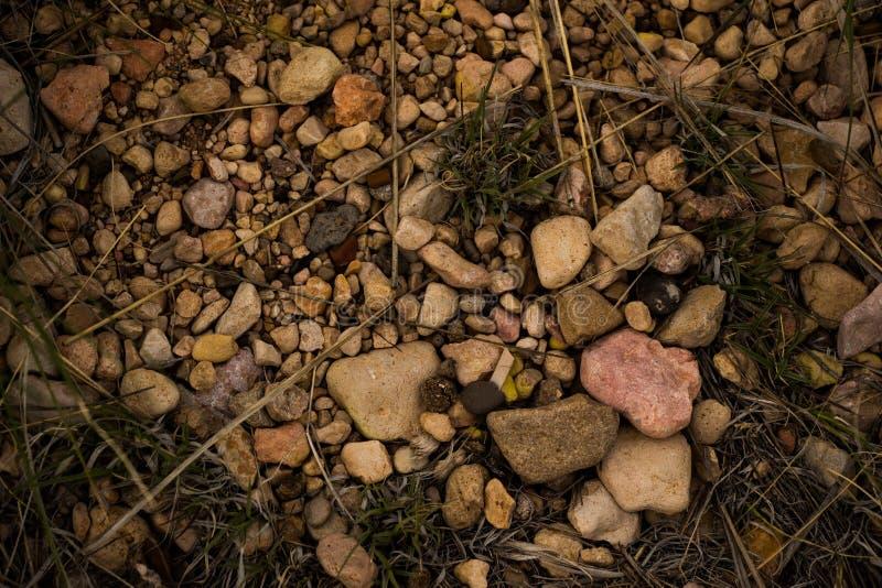 Mezcla atractiva de rocas imagenes de archivo