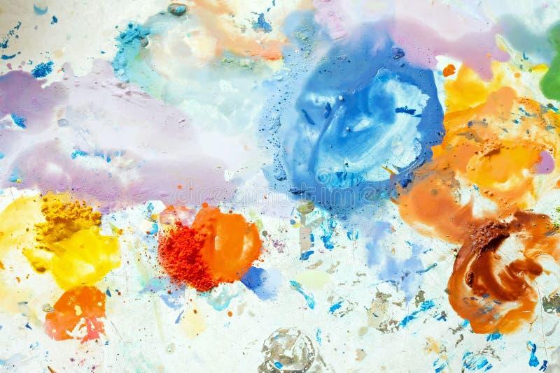 Mezcla colorida imagen de archivo