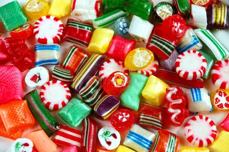 Mezcla colorida del caramelo fotografía de archivo libre de regalías