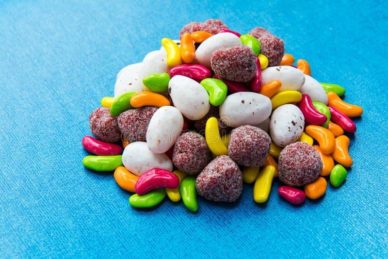 Mezcla colorida del caramelo imagen de archivo libre de regalías