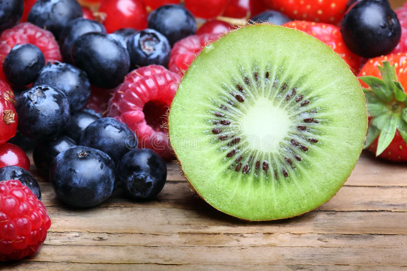 Mezcla de berrie differrerent fotos de archivo libres de regalías