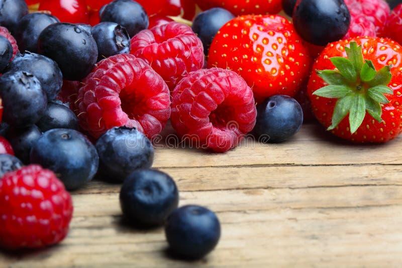 Mezcla de berrie differrerent foto de archivo