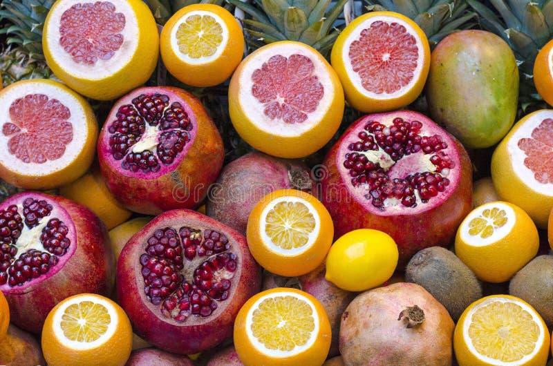 Mezcla de frutas fotografía de archivo libre de regalías