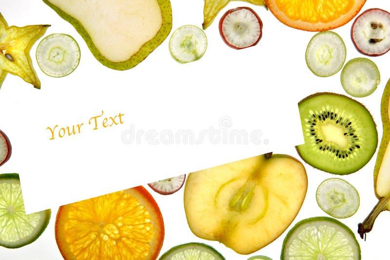 Mezcla de la fruta fotografía de archivo libre de regalías