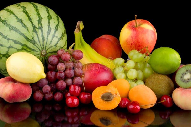 Mezcla de la fruta imágenes de archivo libres de regalías