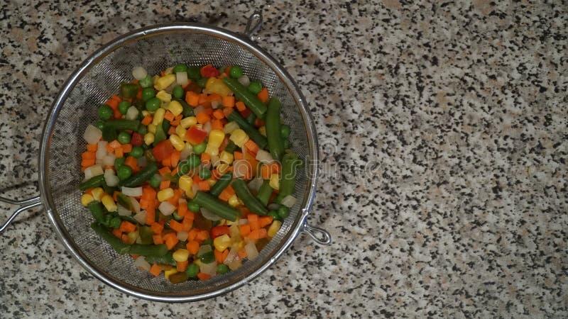 Mezcla de verduras Comida del vegano fotos de archivo libres de regalías