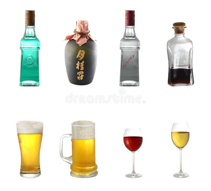 Mezcla del alcohol fotos de archivo libres de regalías