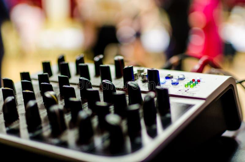 Mezcla del ` s de DJ imágenes de archivo libres de regalías