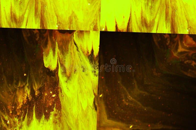 Mezcla loca del color fotografía de archivo