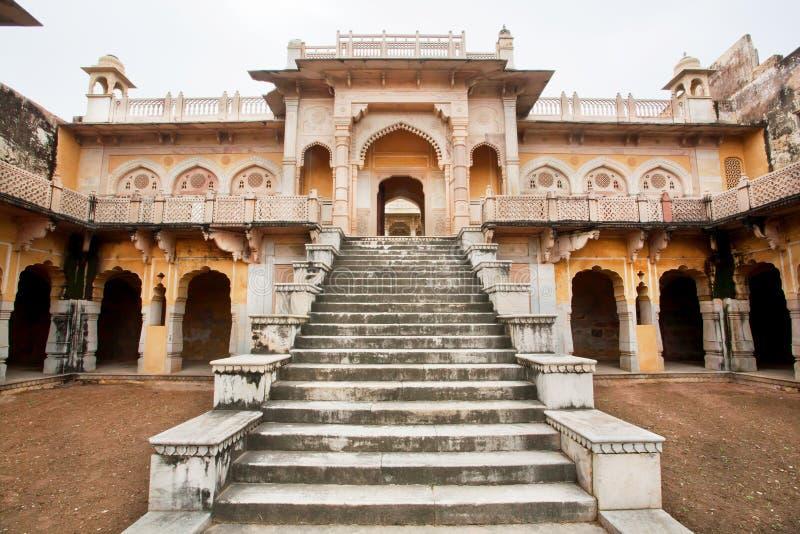 Mezcla perfecta de la arquitectura islámica y de la arquitectura del templo hindú foto de archivo libre de regalías