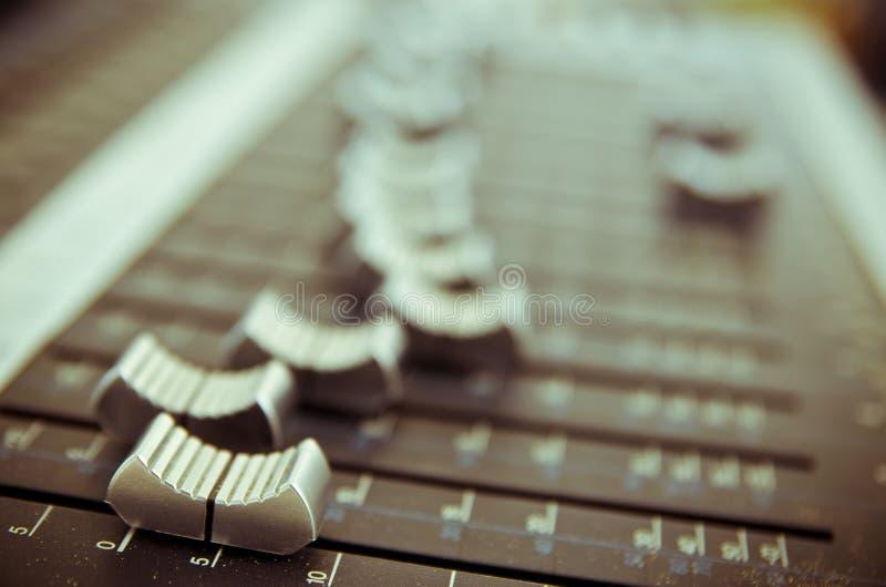 Mezclador 1 de la música imagenes de archivo
