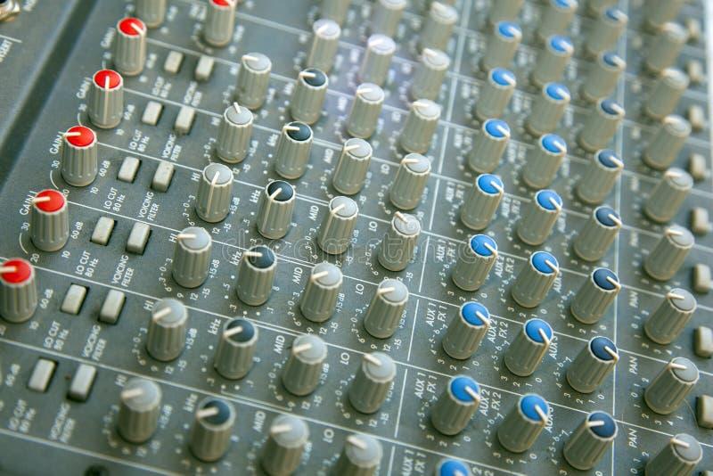 Mezclador De Sonidos Imagenes de archivo