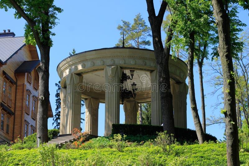 The Mezhyhirya Residence near the Kyiv, Ukraine royalty free stock photos
