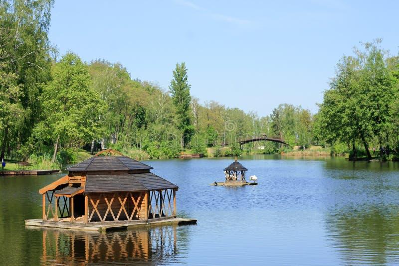 The Mezhyhirya Residence near the Kyiv, Ukraine stock photos