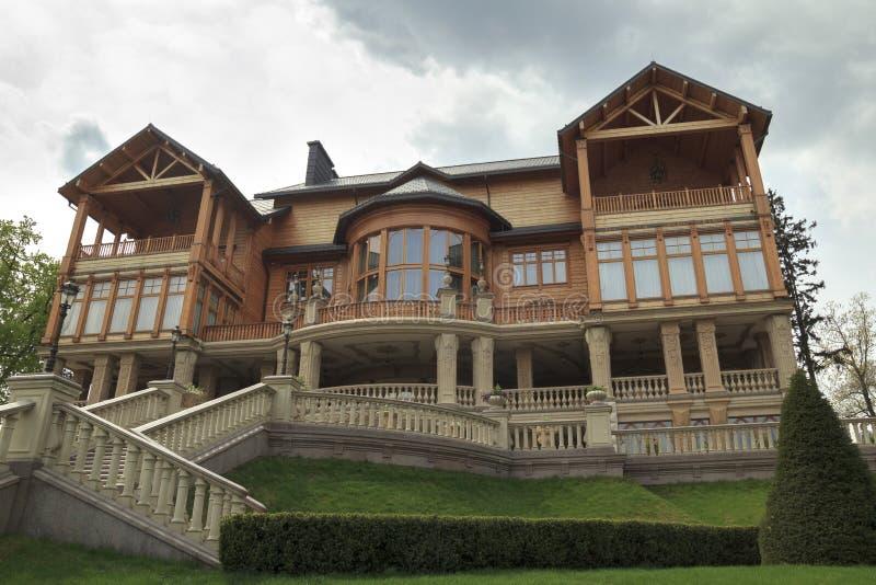 Mezhyhirya Residence stock photography