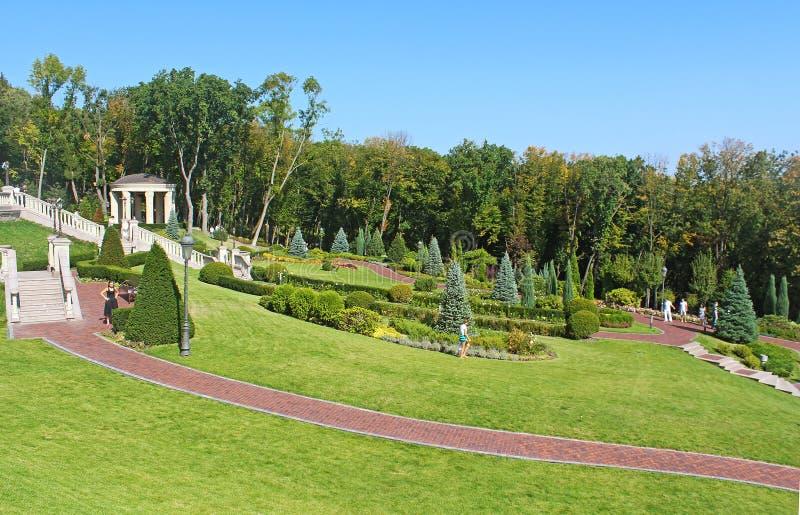 Mezhyhirya - residencia privada anterior del expresidente Yanukovich imagen de archivo libre de regalías