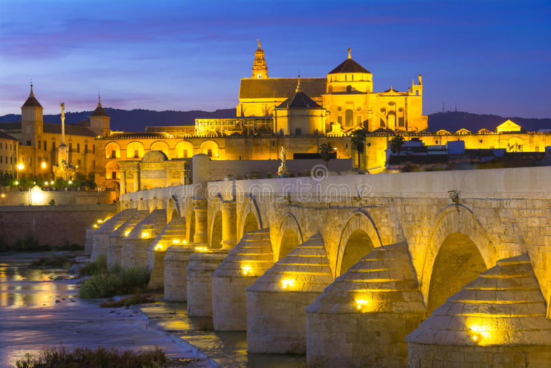 Mezquita καθεδρικός ναός, Κόρδοβα, Ανδαλουσία, Ισπανία στοκ εικόνα