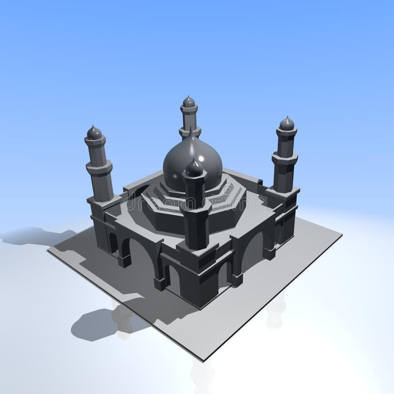 Mezquita stock de ilustración