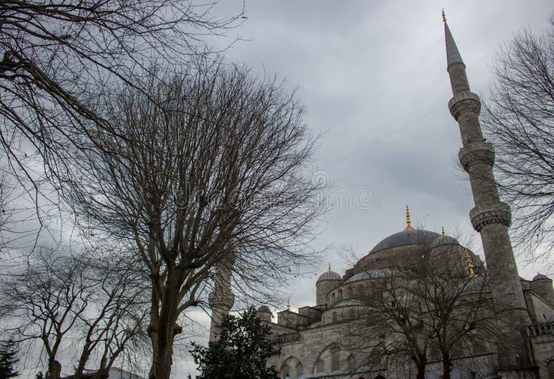 Mezquita azul en Turquía foto de archivo