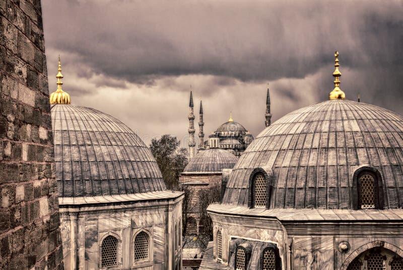 Mezquita azul Estambul imagenes de archivo