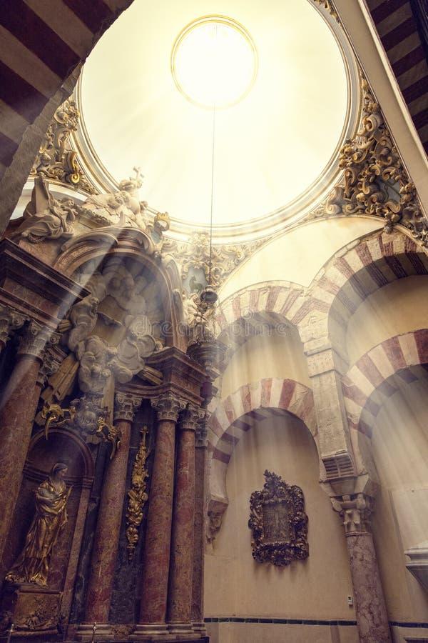 Mezquita Cordoba royalty-vrije stock foto's