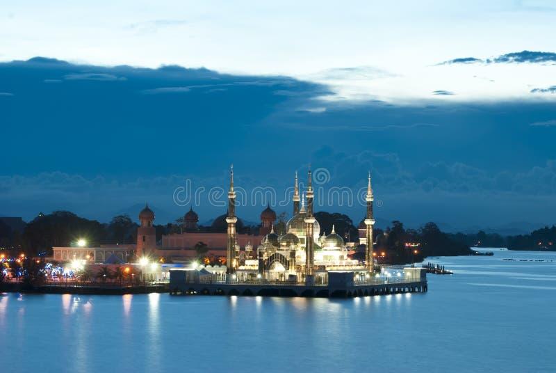 MEZQUITA CRISTALINA, Kuala Terengganu foto de archivo libre de regalías