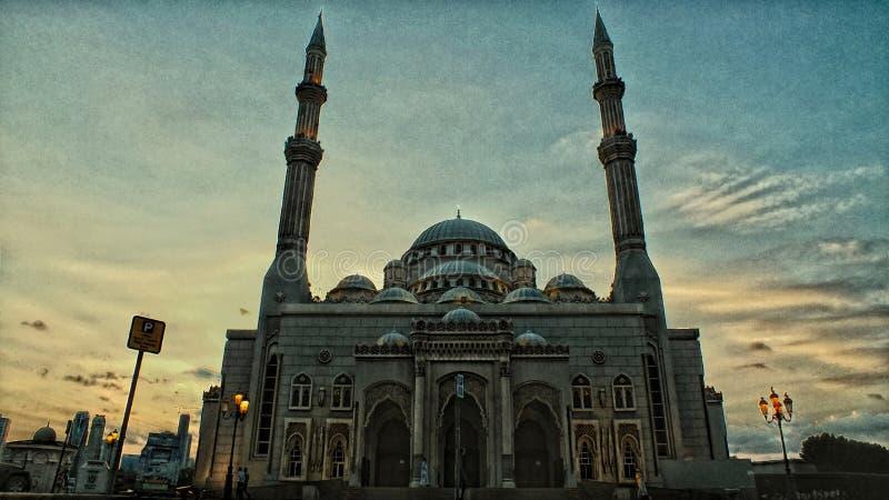 Mezquita de Alnoor foto de archivo libre de regalías