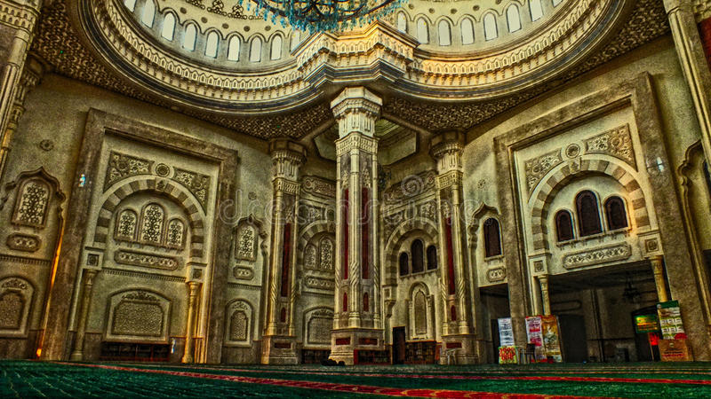 Mezquita de Alnoor fotos de archivo