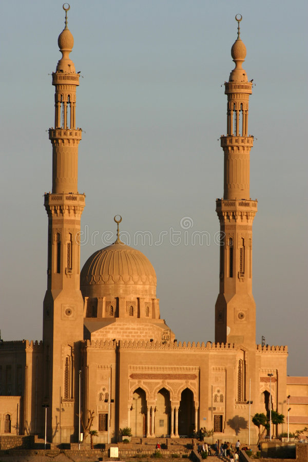 Mezquita de Aswan fotos de archivo libres de regalías