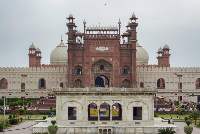 Mezquita de Badshahi, Lahore, Paquistán imágenes de archivo libres de regalías