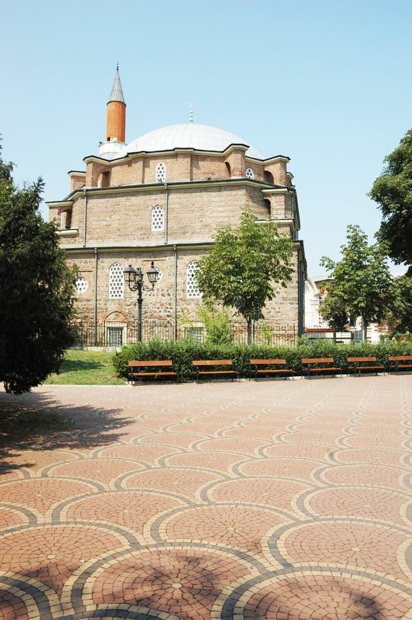 Mezquita de Banya Bashi en Sofía, Bulgaria imagenes de archivo