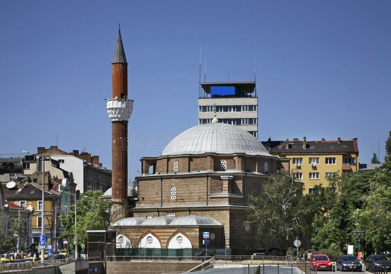 Mezquita de Banya Bashi en Sofía bulgaria imágenes de archivo libres de regalías