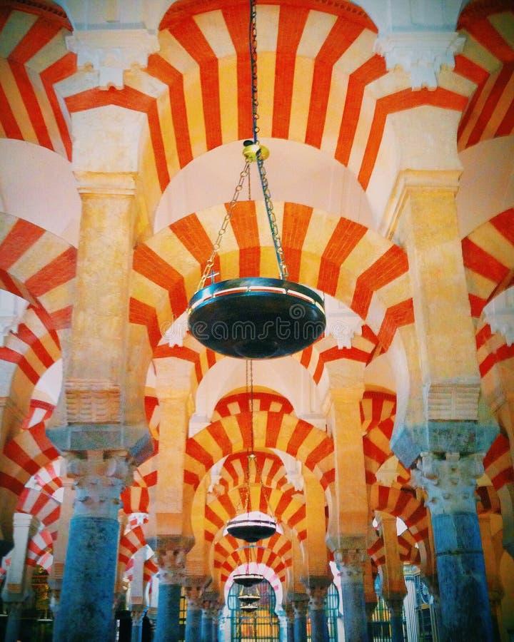 Mezquita de Córdoba fotos de archivo libres de regalías