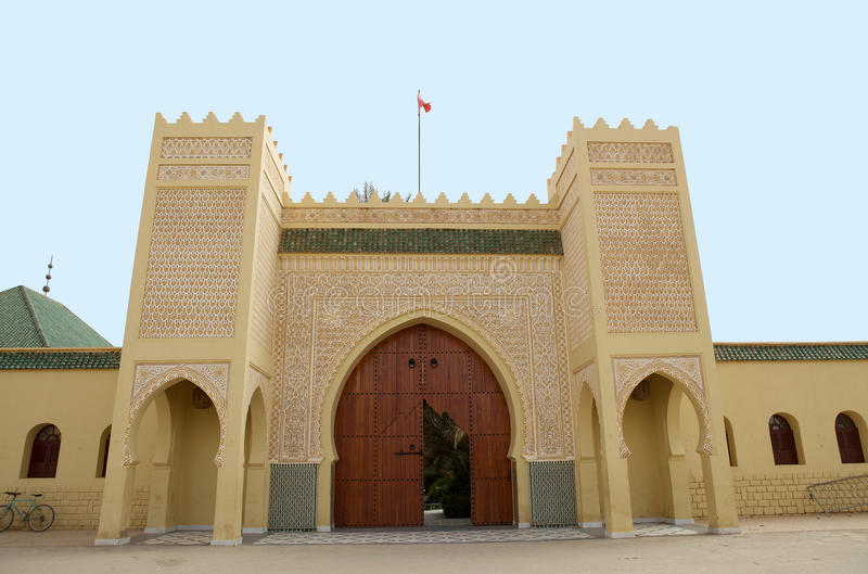 Mezquita de Erfoud fotografía de archivo