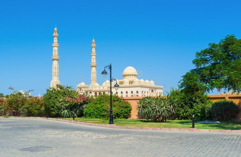 Mezquita de Hurghada fotografía de archivo libre de regalías