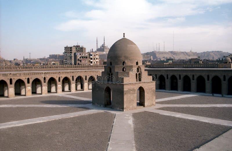 Mezquita de Ibn Tulun, El Cairo, Egipto fotos de archivo libres de regalías