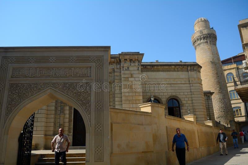 Mezquita de Juma, Baku, Azerbaijan imagenes de archivo