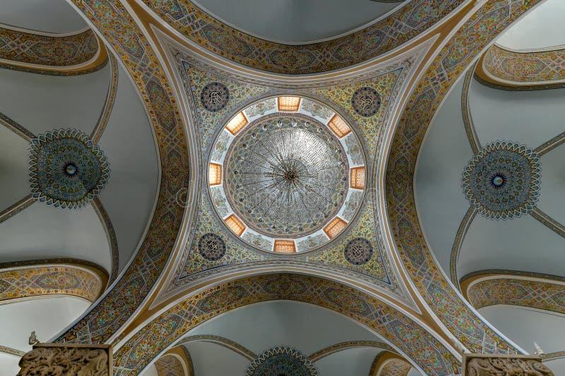 Mezquita de Juma - Baku, Azerbaijan foto de archivo