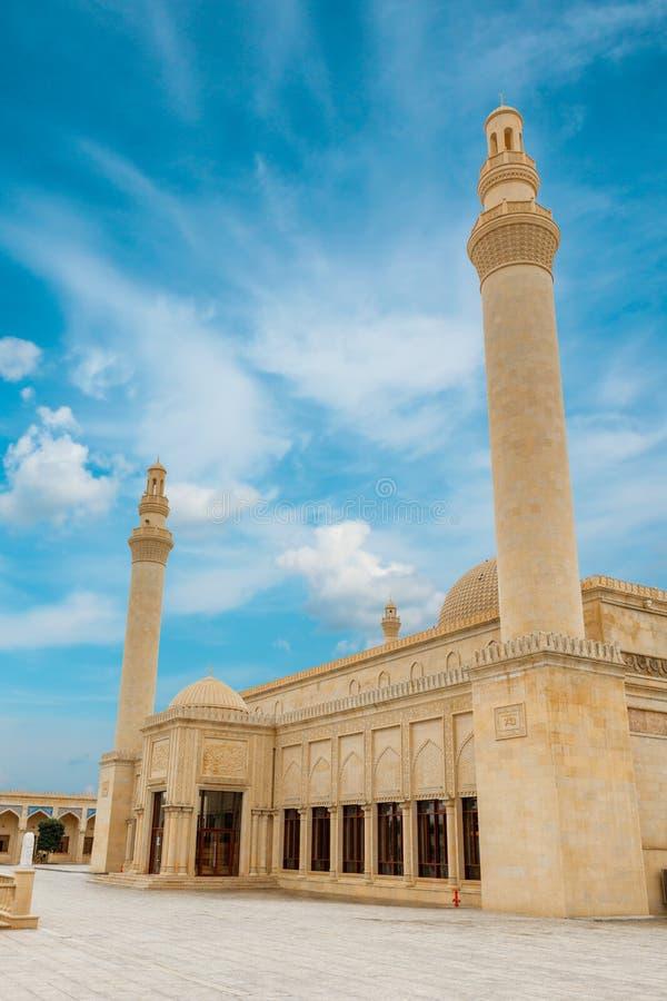 Mezquita de Juma, Samaxi Cume Mescidi, Shamakhi foto de archivo