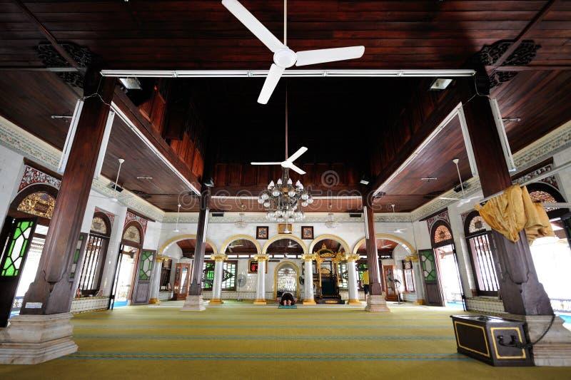 Mezquita de Kampung Kling en Melaka malasia imagenes de archivo