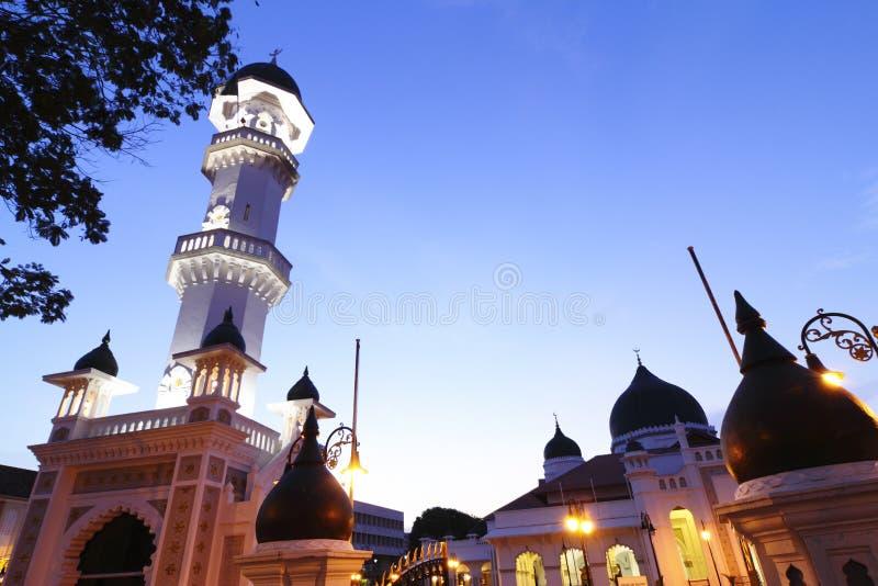 Mezquita de Kapitan Keling imagenes de archivo
