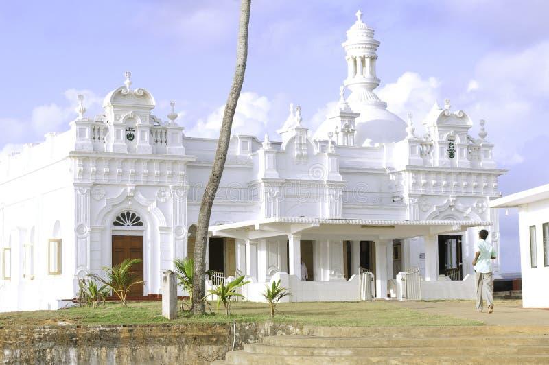 Mezquita de Kechimalai en Beruwala imágenes de archivo libres de regalías