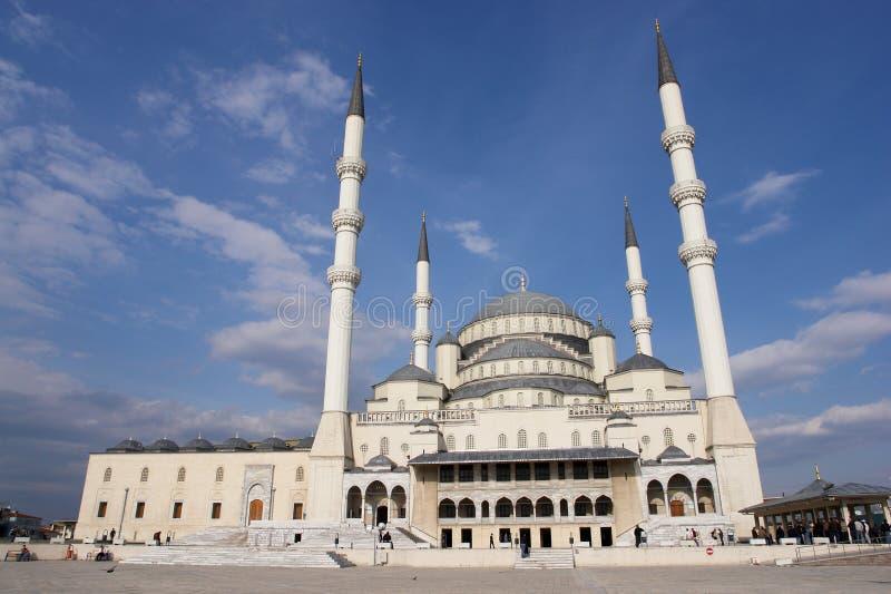 Mezquita de Kocatepe en Ankara - Turquía fotografía de archivo