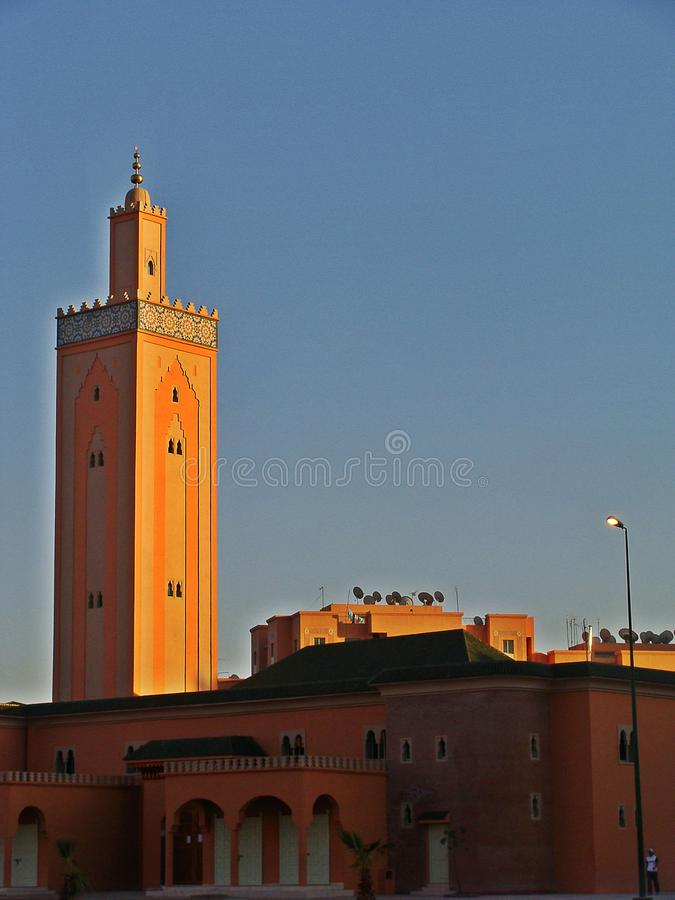 Mezquita de Koutoubia, Marrakesh imagen de archivo libre de regalías